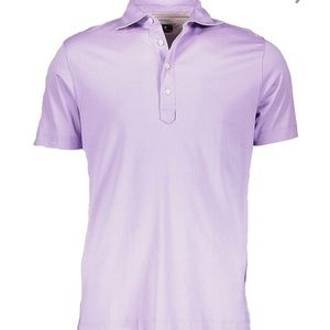 Other - lilac pima cotton polo